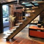 Bureau escalier