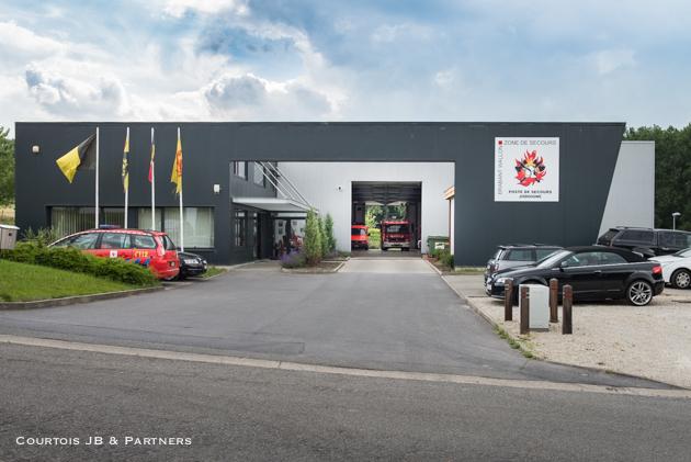Courtois Architecture Pompiers Jodoigne (1 sur 5)