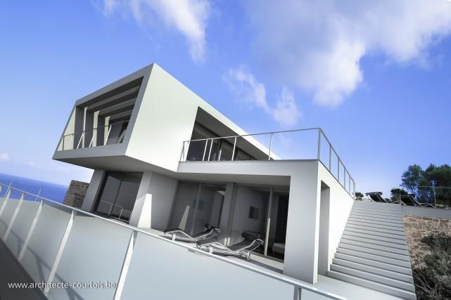 Courtois Architecture Zakynthos Taki β 1